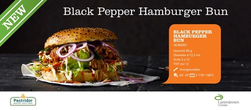 Black Pepper hamburger